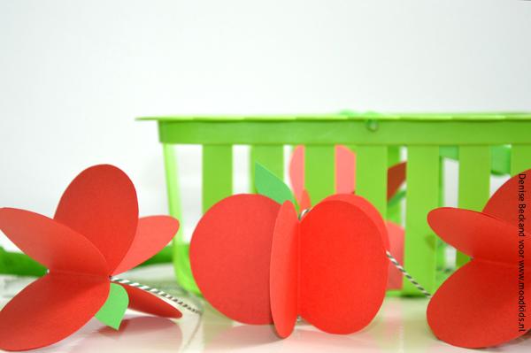 appels van papier maken