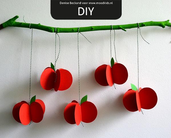 appeltjes van papier maken