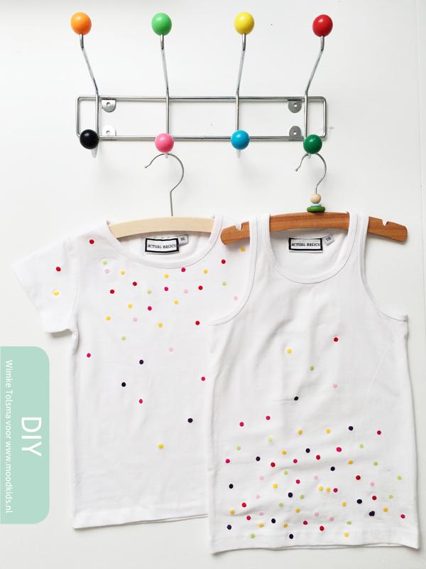 confetti shirts maken