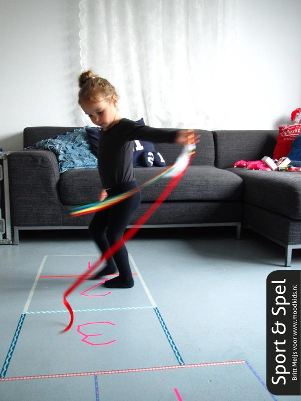 sport en spel kinderen dansen