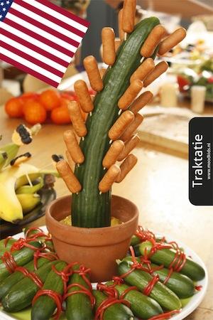komkommer traktatie cactus