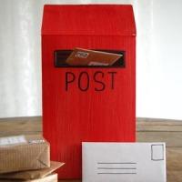 Postkantoortje van een spelletjesdoos
