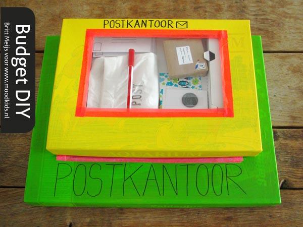 postkantoortje spelen en maken