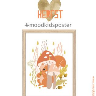 Herfst – seizoen poster