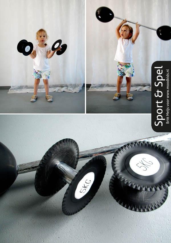 sport en spel gewichten maken