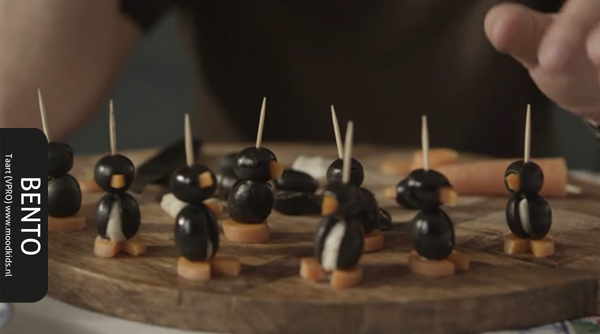 bento penguin how to make it