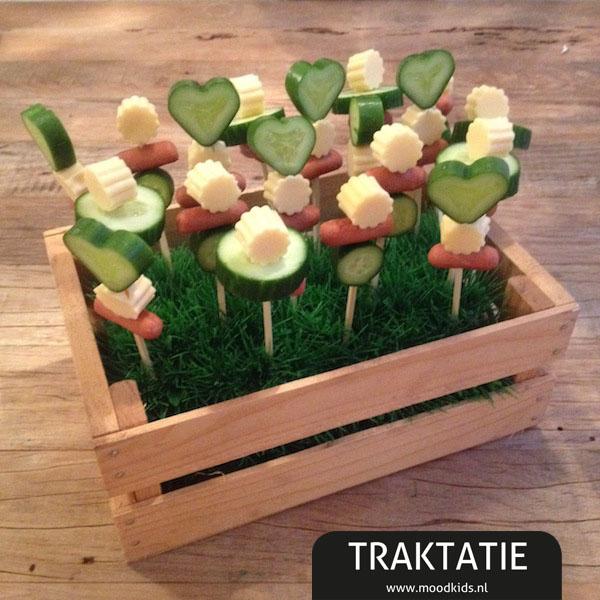 Traktatie op een stokje snel gezond en lekker for Nep fruit waar te koop