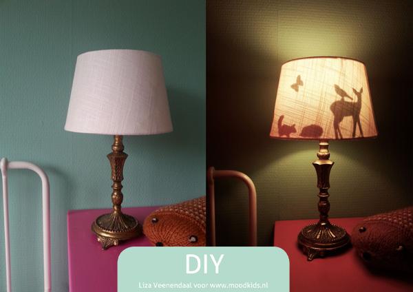 Zelf Een Silhouette Lamp Maken