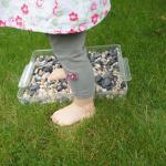 Blotevoetenpad voor kinderen