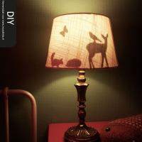 Dag en nacht verschil – DIY silhouette lamp