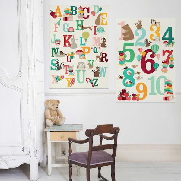 Alfabet-poster-cijfer-poster-Oktoberdots