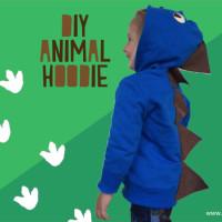 Stap voor stap een animal hoodie maken