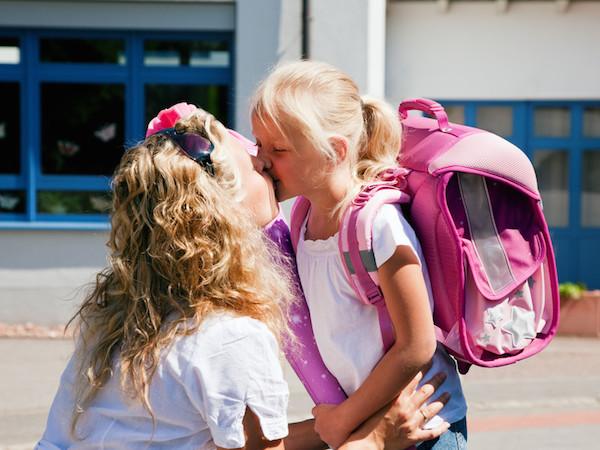 eerste dag basisschool