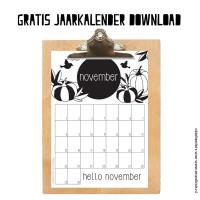 Gratis maandkalender