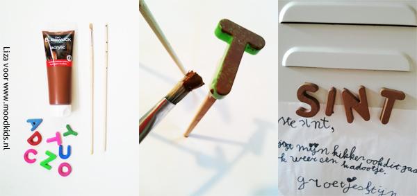 magneet letters maken