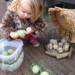Vogelvoer maken met peuters