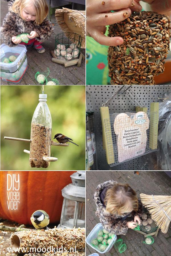 zelf vogelvoer maken ideen