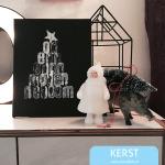 O denneboom: diy kerst decoratie