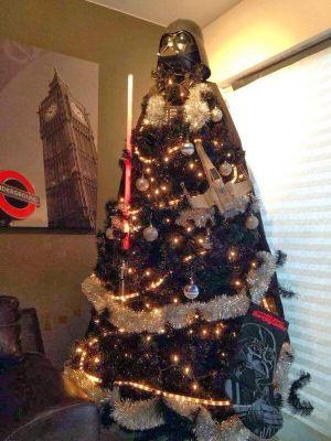 darth vader kerstboom