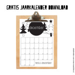 Gratis maandkalender december