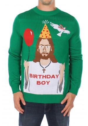 Mens Reindeer Sweater