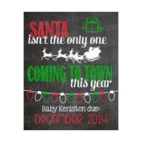 kaartje santa is coming