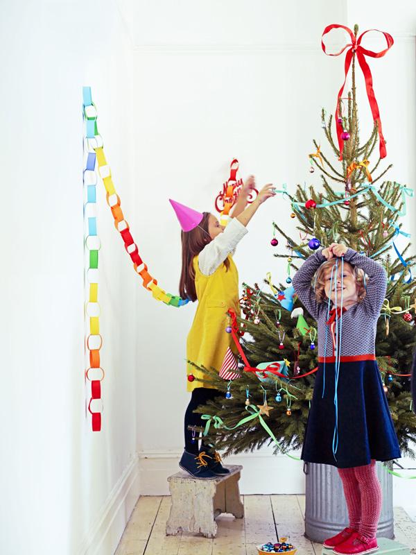 regenboog schuimpjes kerstboom