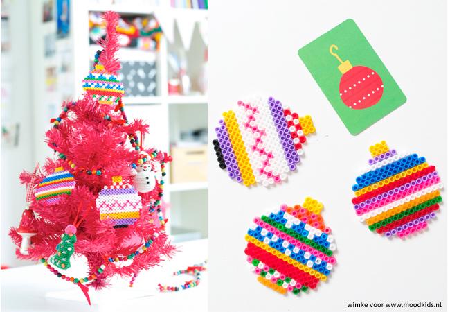 Sneuvelen er bij jou ook vaak ballen? Met strijkkralen maak je gekleurde kerstballen. Kleurrijk, simpel en stijlvol! Strijkkralen Kerst leuk om te doen!