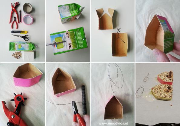 DIY stappenplan vogelhuisje maken