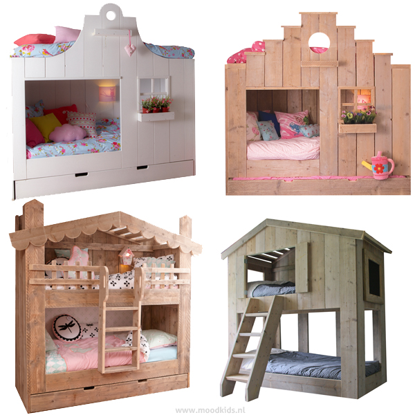 Een bedhuisje om in te slapen de mooiste op een rijtje