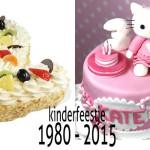 Kinderverjaardag 1980 vs 2015