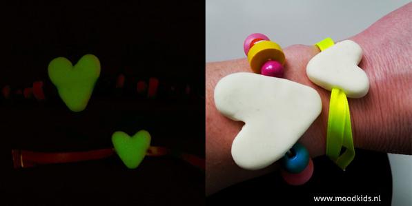 let love glow dag en nacht, valentijnsdag armbandje