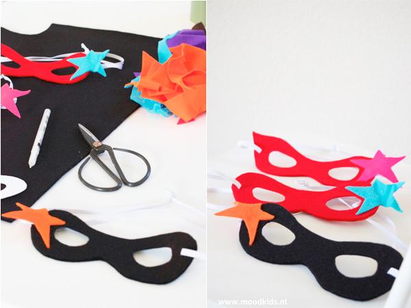 maskers maken van vilt