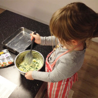 Spinazie brownies voor superhelden