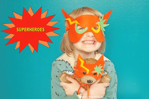 Populair Helden masker zelf maken - MoodKids WW43