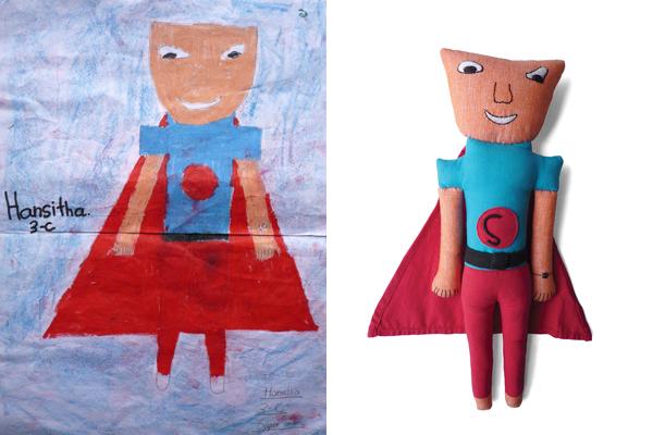 superheld pop van superheldtekening superman