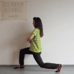 lunges workout dag 18 #hello15