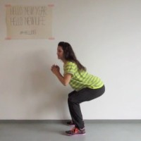Bottom half squats dag 26 #hello15