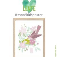 Gratis poster seizoen lente