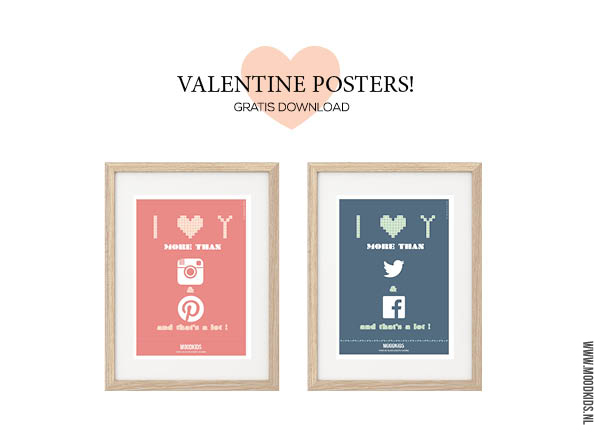 valentijn poster gratis