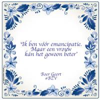 Wat mannen kunnen leren van Boer Geert?