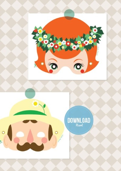 tuinman masker, masker downloaden