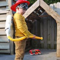 Brandblusser voor echte brandweermannen
