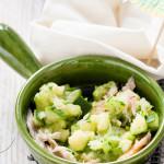 Nieuw Opperdepop recept Courgette met gerookte makreel