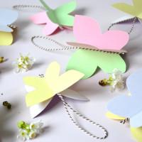 Haal het voorjaar in huis met mooie vlinders van papier