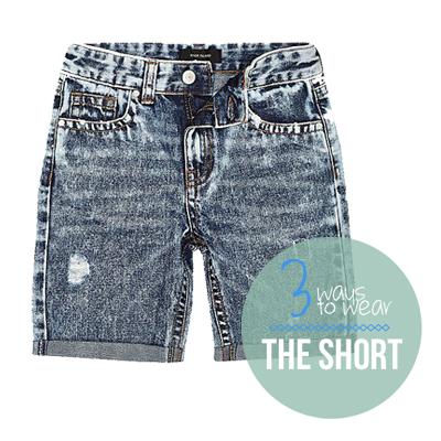 hoe draag je een short