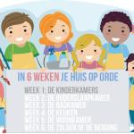 In 6 weken je hele huis op orde – week 1 De kinderkamers