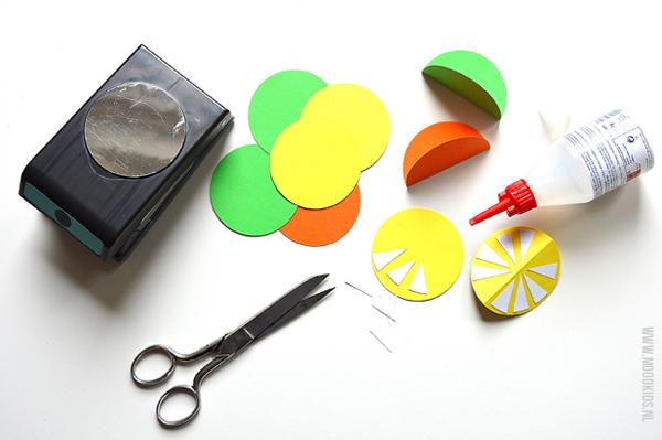rietjes van papier maken