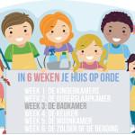 In 6 weken je hele huis op orde – Week 3 Badkamer