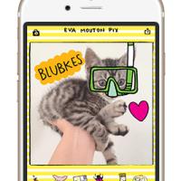 Pimp je foto's met de foto sticker app van Eva Mounton